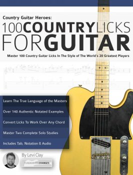Country Guitar Heroes - 100 Country Licks for Guitar: Master 100 Country Guitar Licks In The Style of The 20 Greatest Players screenshot