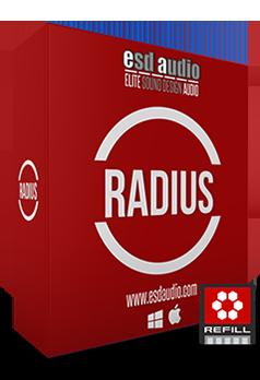 ESD Audio Radius REFiLL screenshot