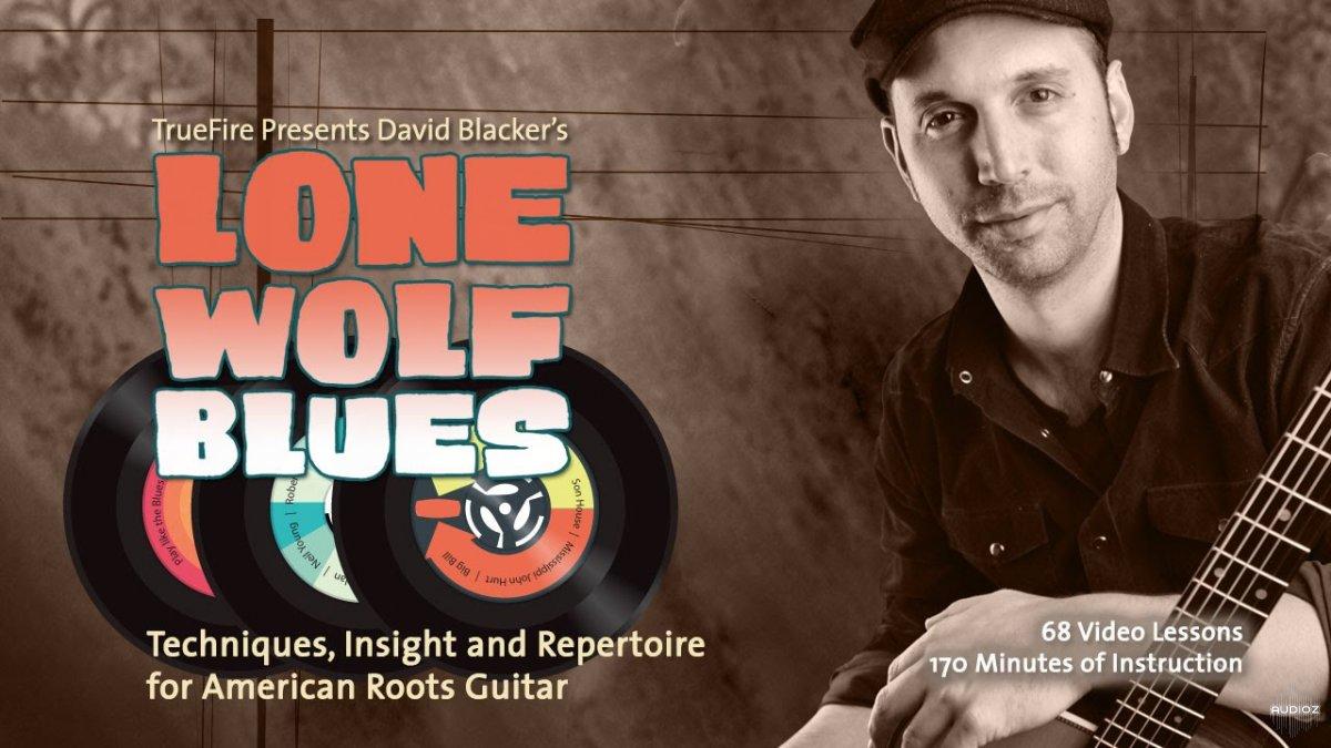 Download Truefire David Blacker Lone Wolf Blues DATA-DVD (2012) » AudioZ