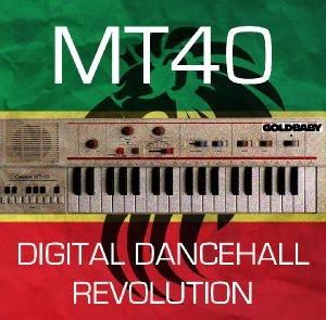 Goldbaby MT40 Digital Dancehall Revolution WAV BATTERY EXS24 KONTAKT GEIST screenshot