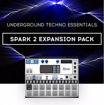Arturia Techno Essentials Expansion for Spark 2-SYNTHiC4TE screenshot