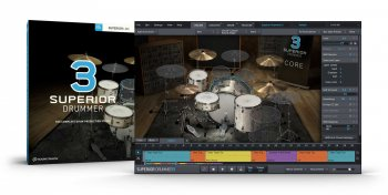 Toontrack Superior Drummer 3 SDX Core Basic Sound Library WiN/OSX screenshot