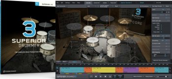 Toontrack Superior Drummer 3 SDX Factory Content: Additional Bleed WiN OSX screenshot