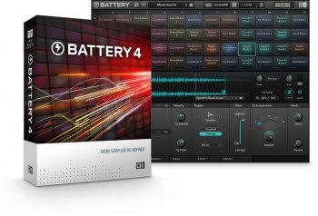 Native Instruments Battery 4 Factory Library v1.1.0 HYBRID-R2R screenshot