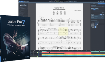 Guitar Pro v7.0.7 with Soundbanks and Tabs screenshot
