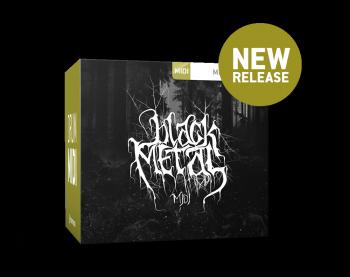 Toontrack Black Metal Midi Pack screenshot