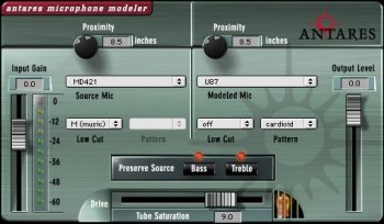 Antares Microphone Modeler DX v1.32-H2O screenshot