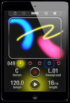 KORG iKaossilator v3.1.3 iPhone iPad iPod Touch screenshot