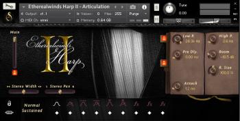 Versilian Studios Etherealwinds Harp II KONTAKT-SYNTHiC4TE screenshot