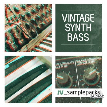 RV Samplepacks Vintage Synth Bass WAV MiDi REX screenshot