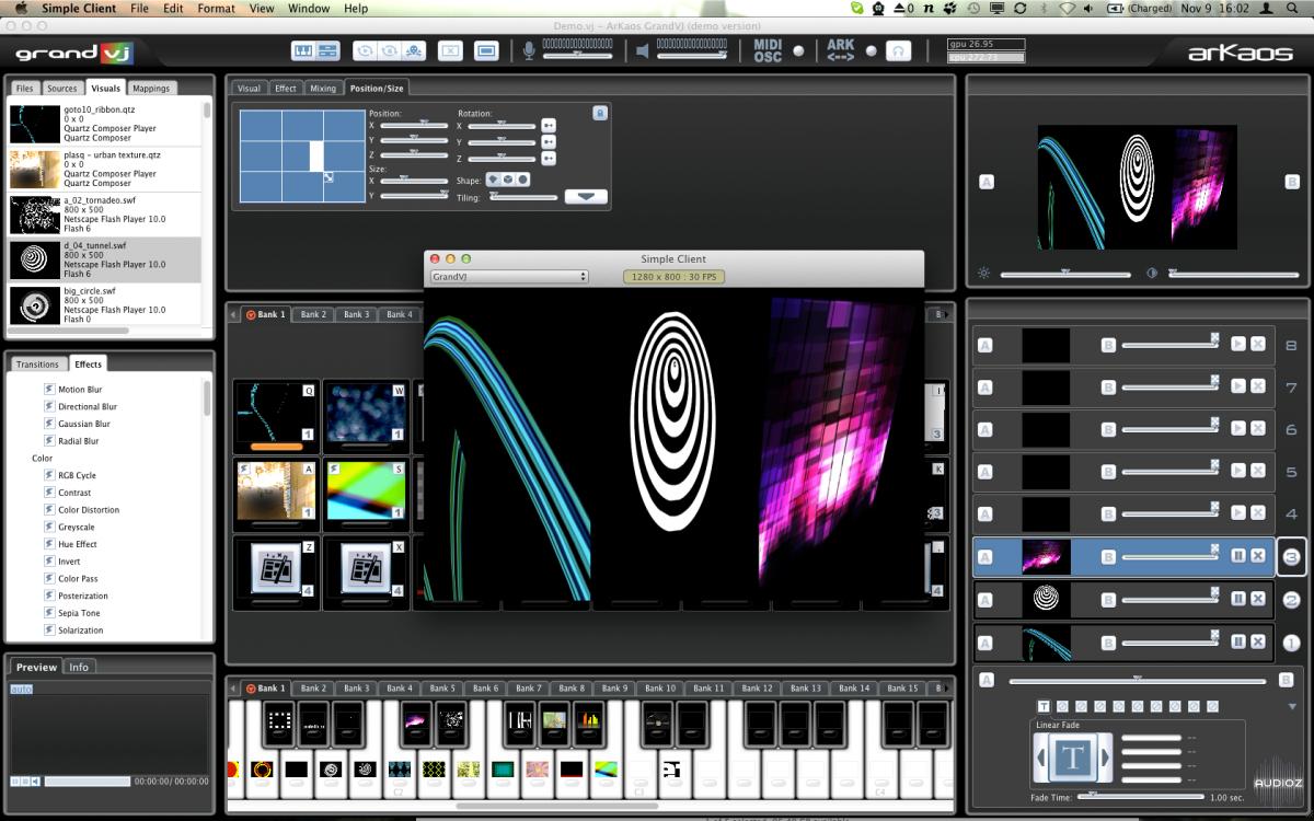 Arkaos grand vj video mixing software