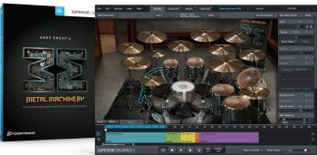 Toontrack Metal Machinery SDX v1.5 Update Only WiN screenshot