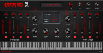 BeatMaker Horror Box XL v1.0 VST AU Kontakt MAC/WiN screenshot