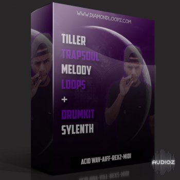 Diamond Loopz Trapsoul Melody Loops WAV MiDi REX AiFF LENNAR DiGiTAL SYLENTH1 screenshot