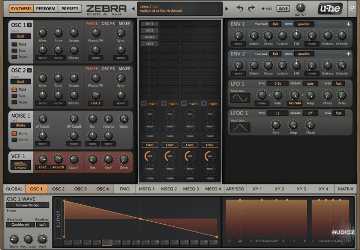 Download Zebra 2 8 Beta Rev 6849 WIN/MAC FREE » AudioZ