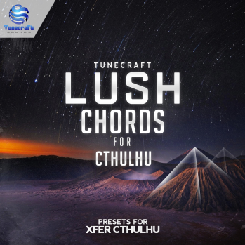 Tunecraft Sounds Lush Chords For XFER RECORDS CTHULHU-DISCOVER screenshot