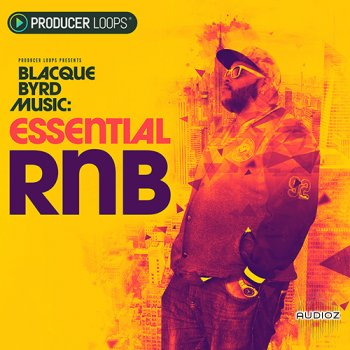 Producer Loops Blacque Byrd Music Essential RnB MULTiFORMAT screenshot