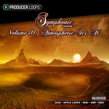 Producer Loops Symphonic Series Vol 10 Atmospheric Sci-Fi MULTiFORMAT screenshot