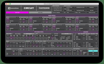 Isotonik Studios Novation Circuit Editor ALP WiN MAC [FREE] screenshot
