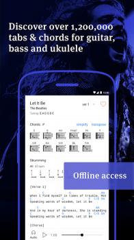 Ultimate Guitar Tabs & Chords v5.13.3 (Unlocked) for Android screenshot