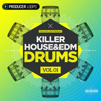 Producer Loops Killer House and EDM Drums Vol 1 MULTiFORMAT screenshot