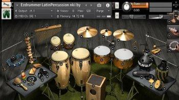Latin percussion for Kontakt screenshot
