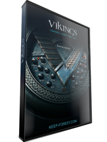KeepForest Vikings Expansion Metal Cinematic Toolkit KONTAKT WAV MIDI screenshot