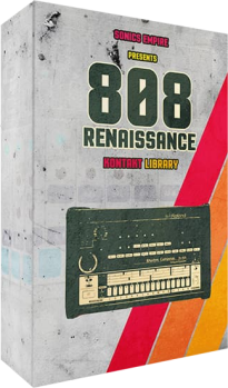 Sonics Empire 808 Renaissance WAV NATiVE iNSTRUMENTS KONTAKT-DISCOVER screenshot