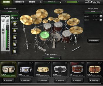 Naughty Seal Audio Perfect Drums Factory Library v1.6.0-R2R screenshot