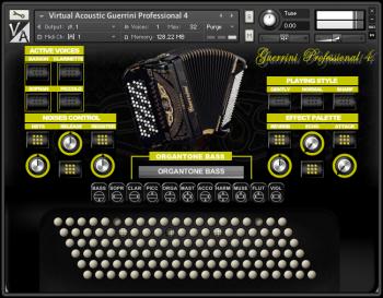 Virtual Acoustic Guerrini Superior 4 KONTAKT WAV screenshot