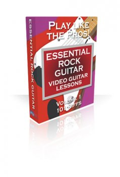 PG Music Video Guitar Lessons Essential Rock Guitar Volumes 1 and 2 FOR MAC OSX screenshot