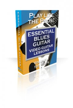 PG Music Video Guitar Lessons Essential Blues Guitar Volumes 1 and 2 FOR MAC OSX screenshot