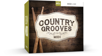 Toontrack Country Grooves MIDI WiN screenshot