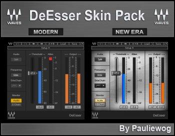 Waves DeEsser Modern & New Era Skin By Pauliewog screenshot