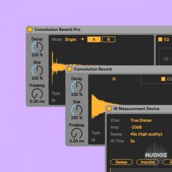 Ableton Convolution Reverb ALP screenshot