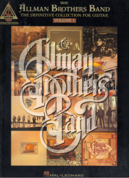 Hal Leonard The Allman Brothers Band – The Definitive Collection for Guitar – Volume 1 PDF screenshot