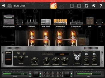 Positive Grid BIAS Amp v1.6.5 iPad screenshot