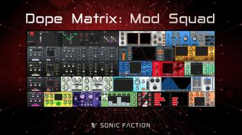 Sonic Faction Dope Matrix Mod Squad v2.2.2 for Ableton Live v10.0.1 ALP-SYNTHiC4TE screenshot