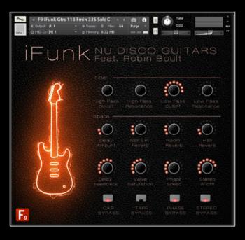F9 Audio F9 iFunk Nu Disco Guitars Ft Robin Boult MULTiFORMAT screenshot