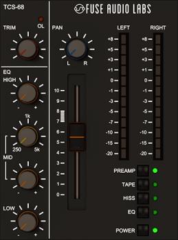 Fuse Audio Labs TCS-68 v1.2.0 CE-V.R screenshot