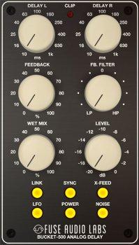 Fuse Audio Labs Bucket-500 v1.2.0 CE-V.R screenshot