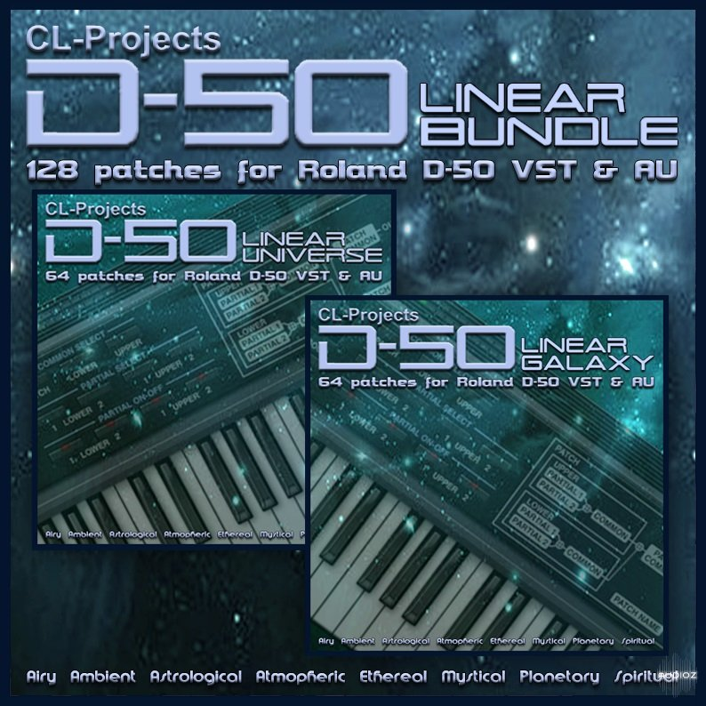 Download CL-Projects Linear Bundle for Roland D-50-DECiBEL » AudioZ