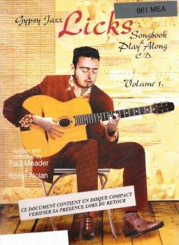 Robin Nolan Gypsy Jazz Licks Vol 1 PDF screenshot