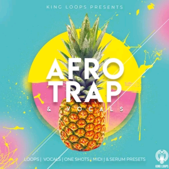King Loops Afro Trap And Vocals Volume 1 WAV MiDi XFER RECORDS SERUM-DISCOVER screenshot