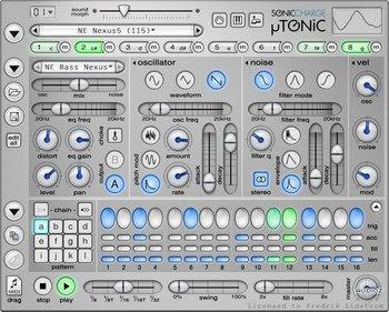Sonic Charge Microtonic v3.20 - FiXED for WIndows 8 and 10 screenshot
