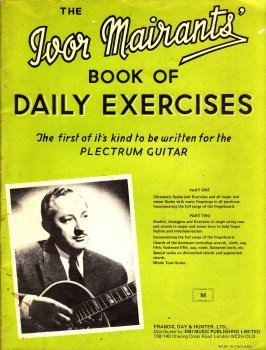Ivor Mairants The Ivor Mairants Book Of Daily Exercises (Plectrum Guitar) PDF screenshot