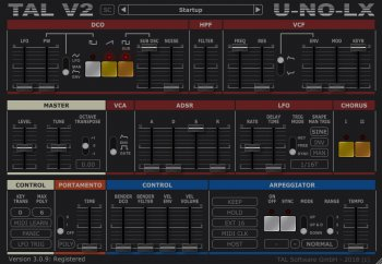 Togu Audio Line TAL-U-NO-LX 3.0.9 incl R2R Keygen screenshot