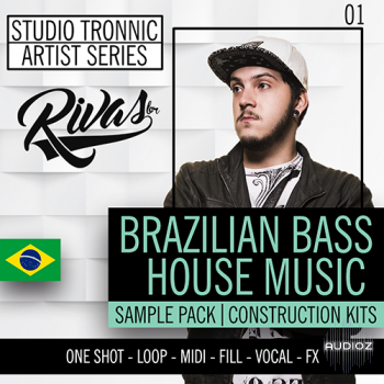 Studio Tronnic Artist Series Rivas (RB) Vol.1 Bralizian Bass House Music WAV MiDi MASSiVE/SYLENTH PRESETS screenshot