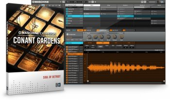 Native Instruments Maschine Expansion Conant Gardens v2.0.1 WiN screenshot