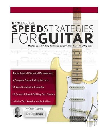 Chris Brooks - Neoclassical Speed Strategies For Guitar screenshot